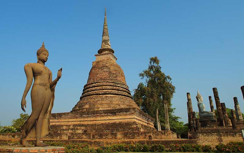 Buddhastatue-