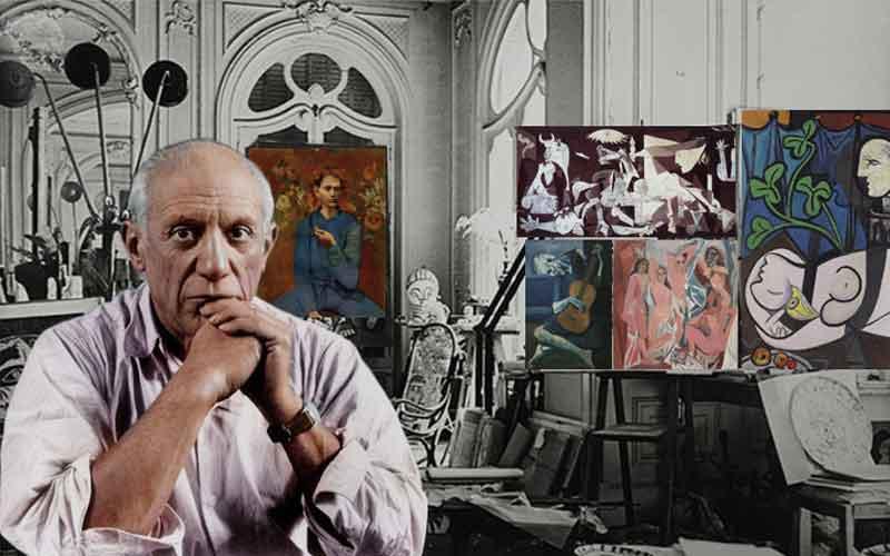ประวัติจิตรกร ปาโบล ปีกัสโซ
