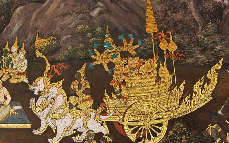 ศิลปะไทยกับต่างประเทศมีความแตกต่างกันอย่างไร